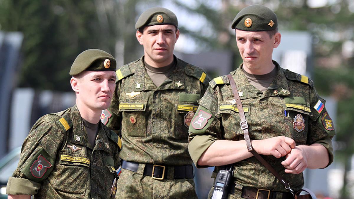Сержанты стали кадровыми военнослужащими