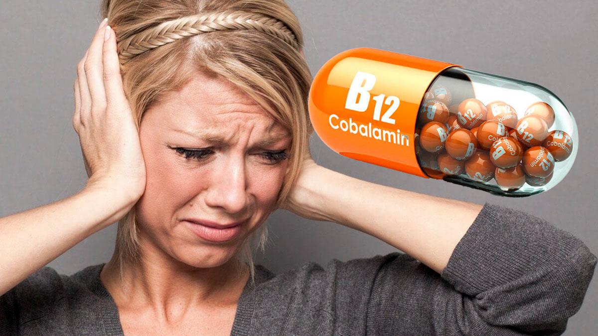 дефицит витамина B12 укажет необычный симптом в ушах