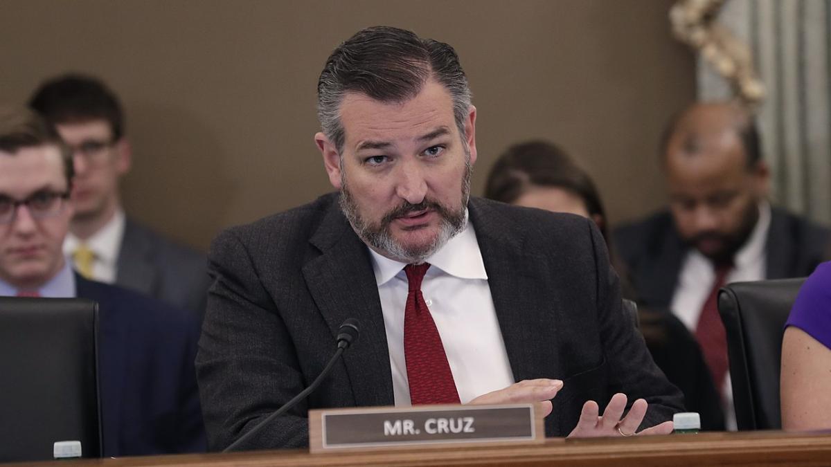 сенатор США Тед круз