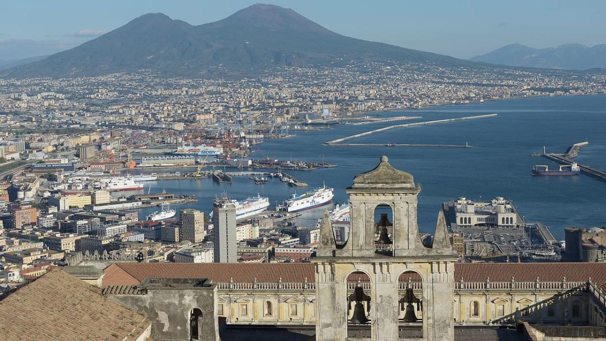 вид на Неаполь