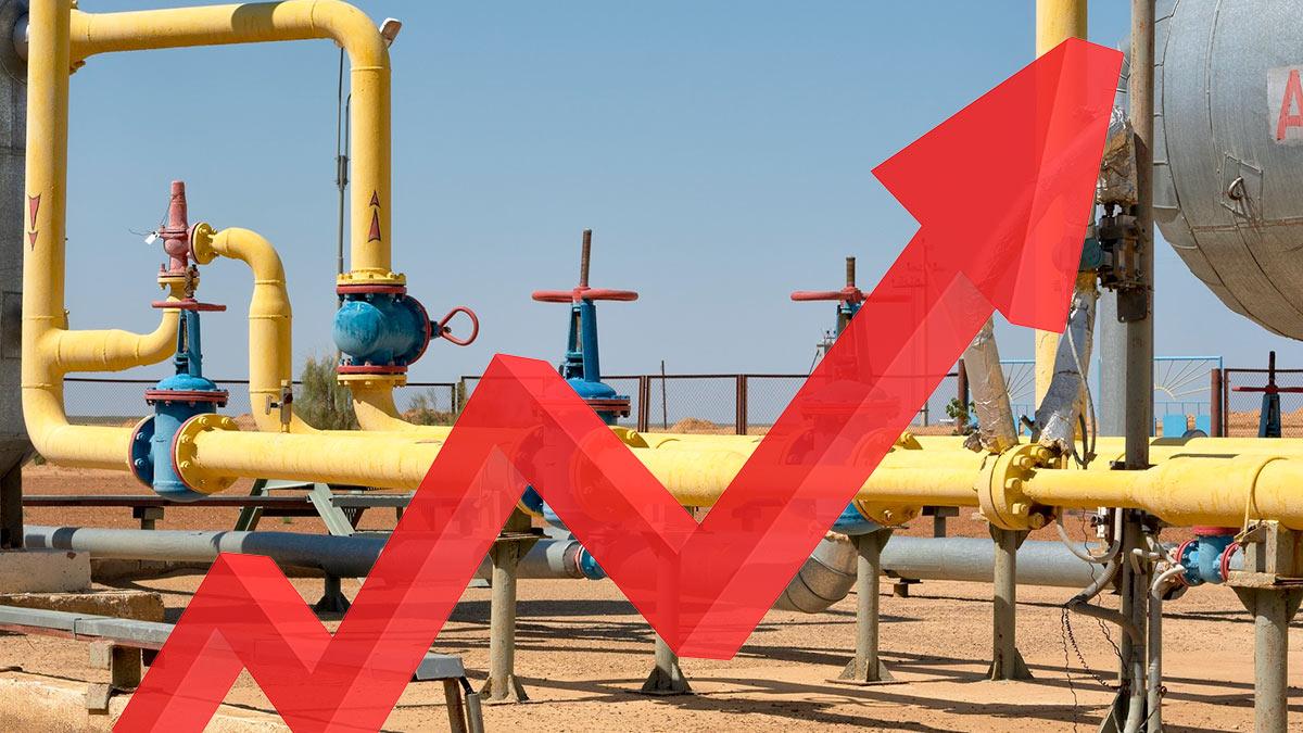 Цены на газ в Европе снова пошли вверх