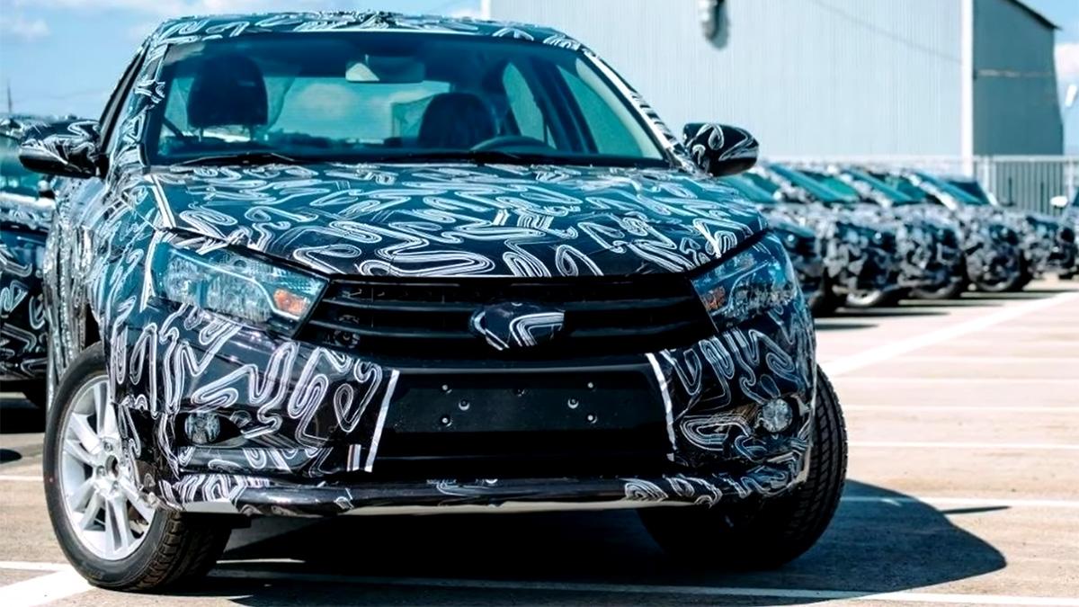 Раскрыт дизайн бамперов новой Lada Vesta