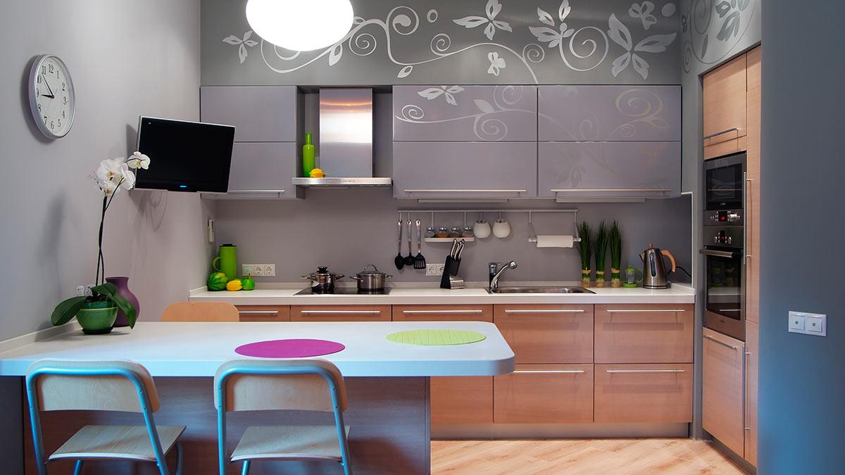 Умная планировка для маленькой кухни