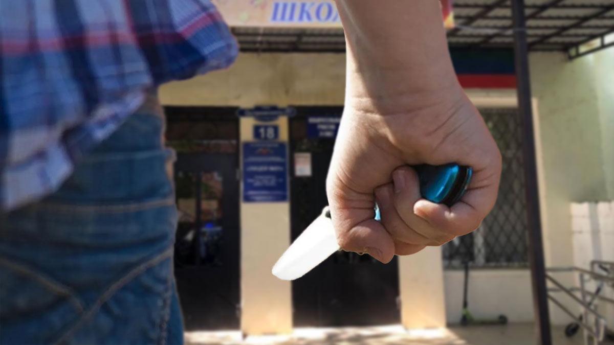 Смертельное ножевое ранение в школе Махачкалы