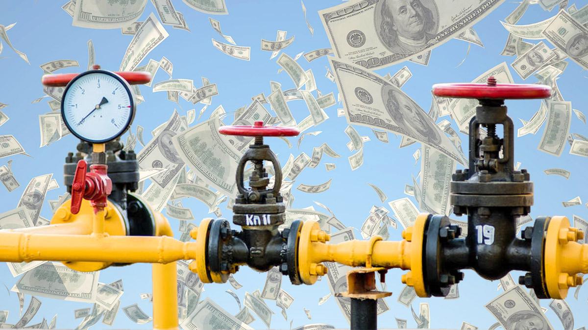 Цена фьючерсов на газ побила очередной рекорд