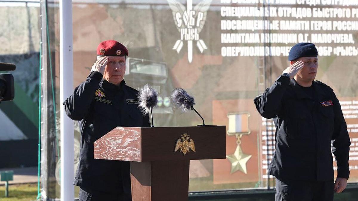 Виктор Золотов открыл VI Всероссийские соревнования по стрельбе