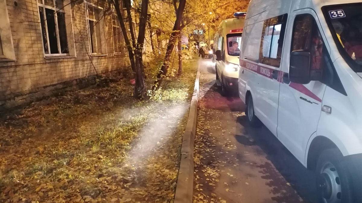 пожар в ковидном госпитале в Кирове