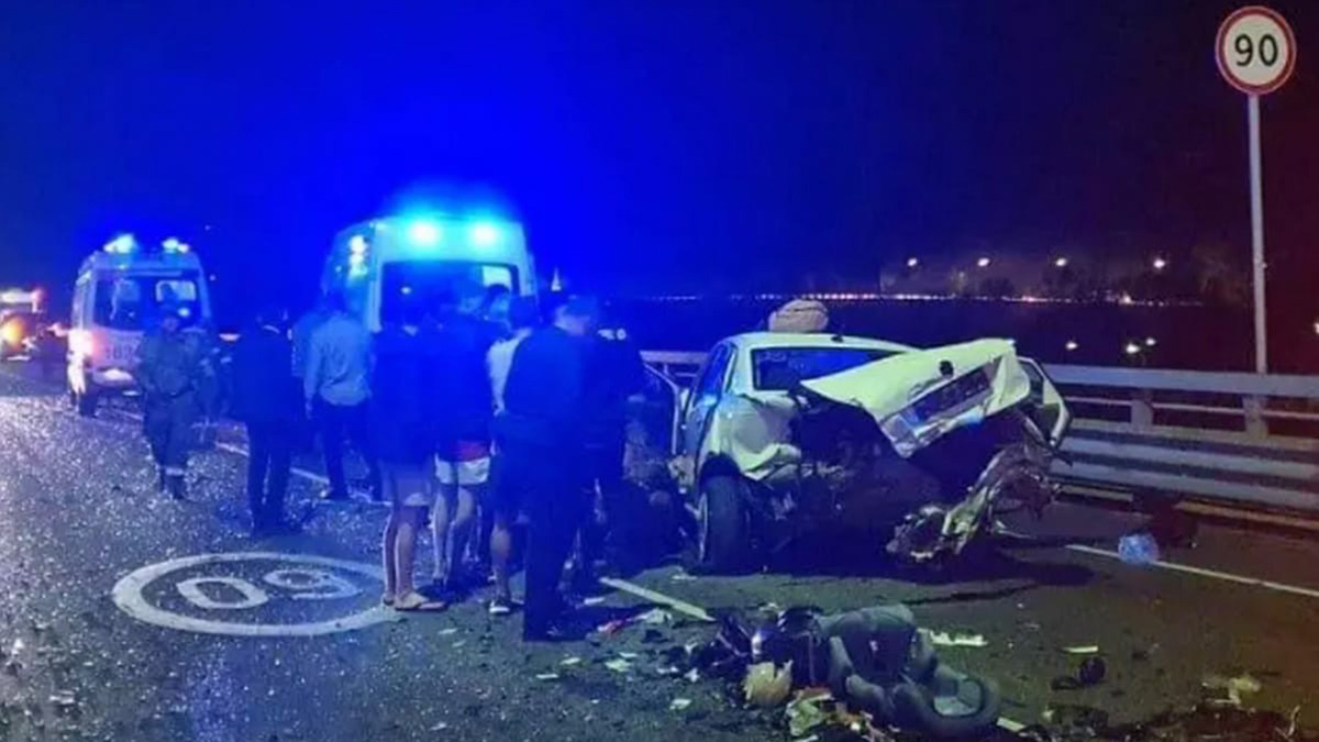 Авария на трассе «Адлер - «Альпика Сервис»