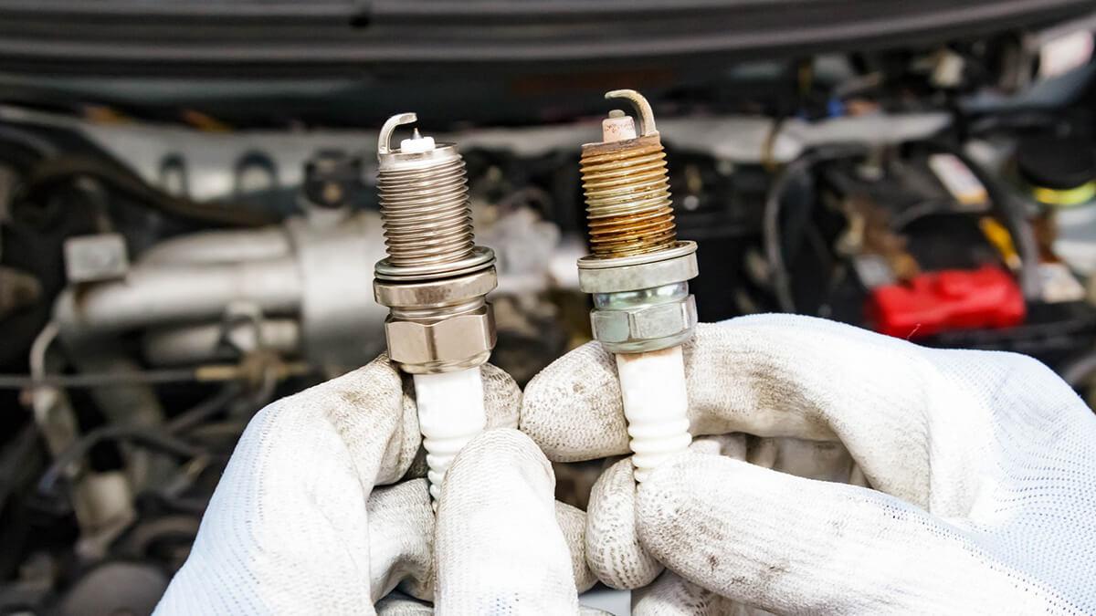Капремонт двигателя и-за свечей зажигания