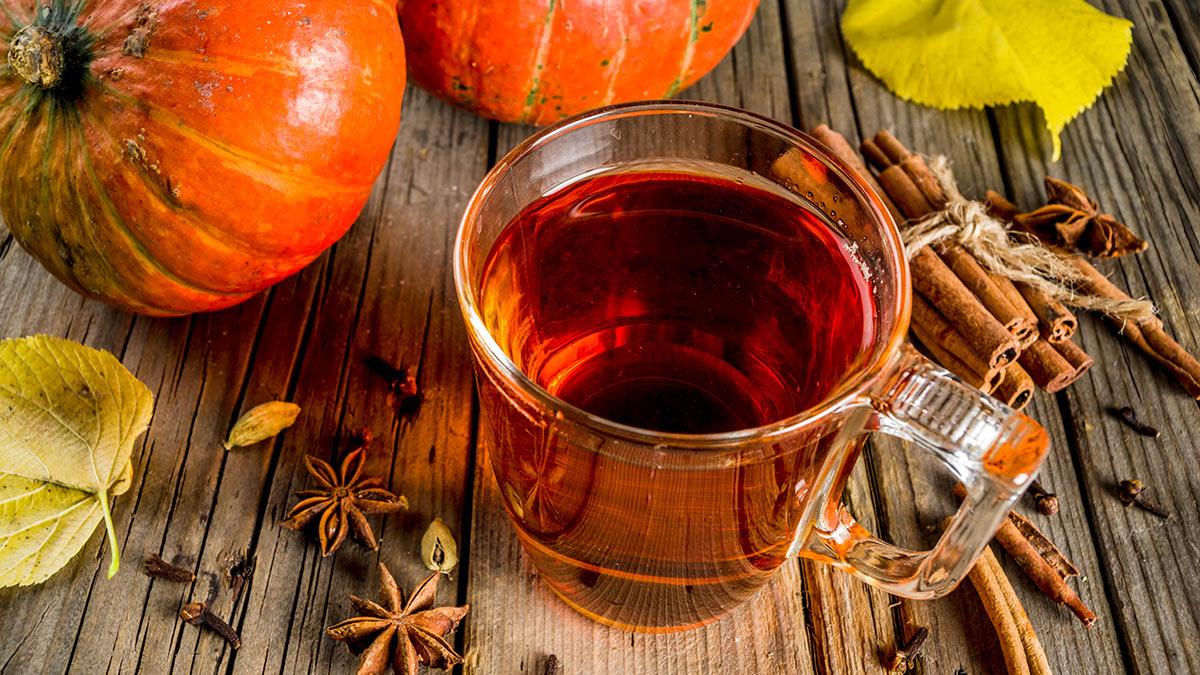 тыквенный чай