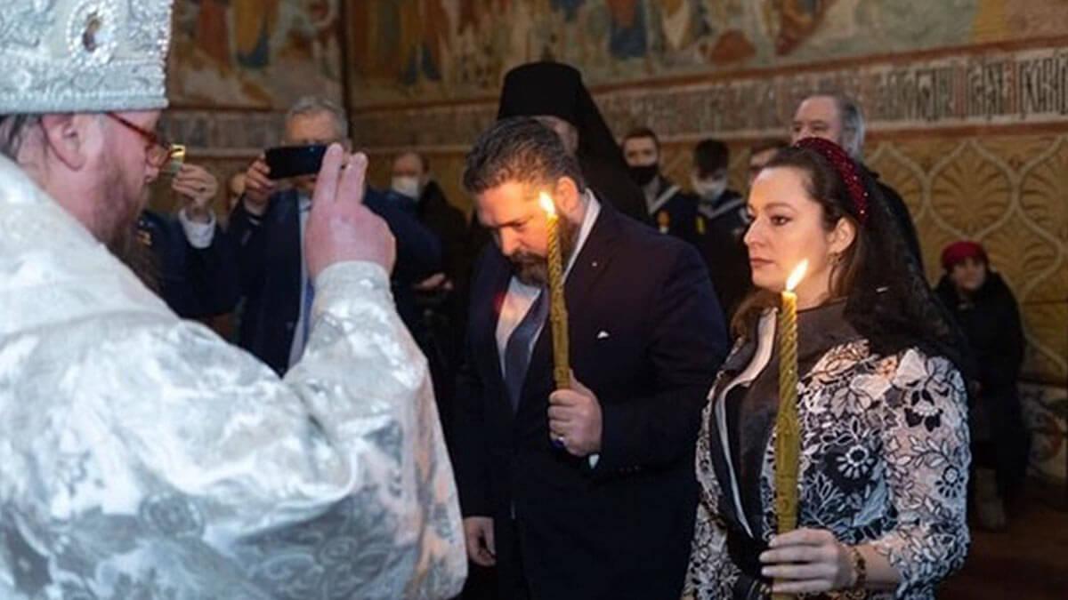 венчание «великого князя» и «потомственной дворянки»