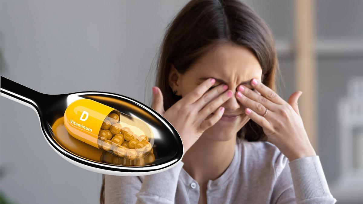 Симптомы нехватки витамина D
